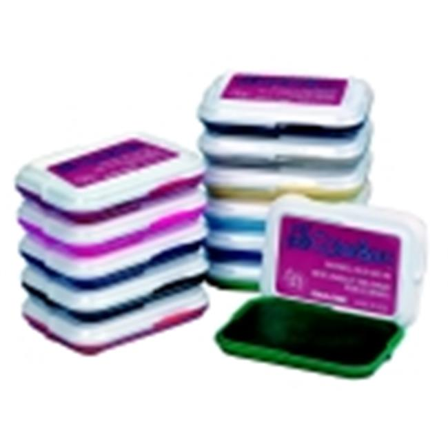 My First Colorbox 2.88 x 2 In. Non-Toxic Washable Stamp Pad Set, Set 18
