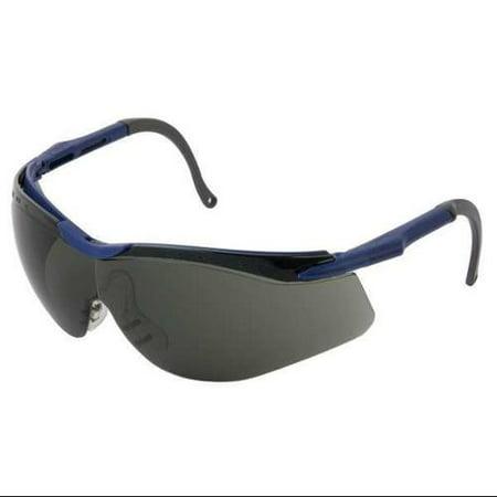 HONEYWELL T56505BLS Safety Glasses,Smoke Lens,Half Frame ...
