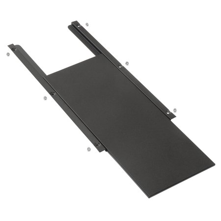 """Sliding Mouse Tray for Mobile Computer Cabinets, 9-1/2""""W x 7-1/2""""D, Lot of 1"""
