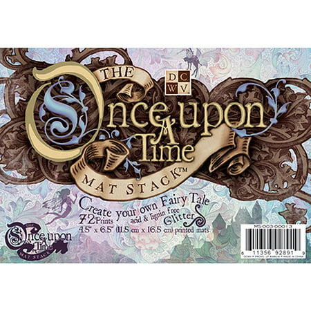 Once Upon A Time Mat Stack 4.5X6.5 72 Sheets/Pad