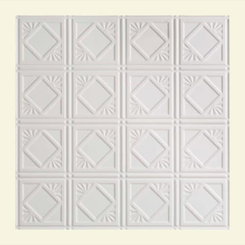"ACP L55 Fasade - 24"" x 24""Vinyl Lay-In Ceiling Tile - Sold by Piece"