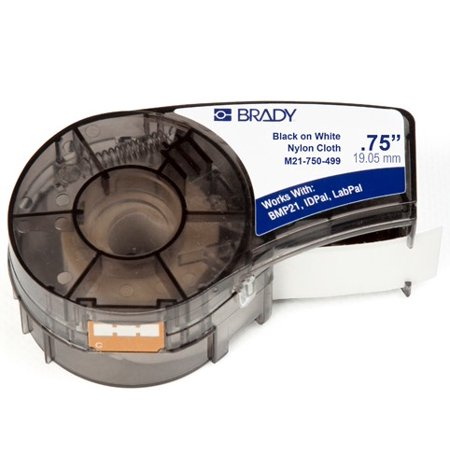 Brady M21-750-499-4PK Label Cartridge for BMP21 Series, ID PAL (4 PER ZACK PACK)