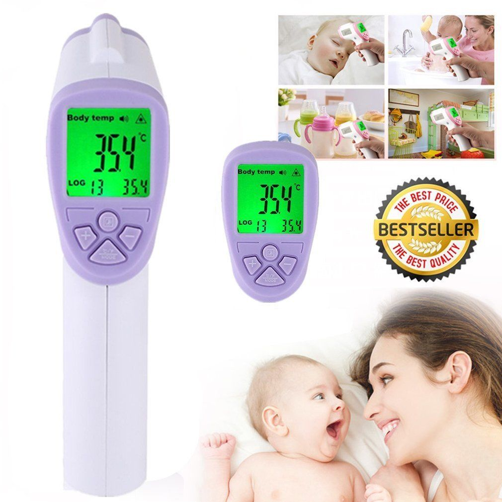 Non-Contact IR Thermometer Infrared Digital Laser Gun For body Scanner WD