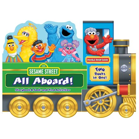 Sesame Street: All Aboard!: Storybook & Seek-And-Find Activities (Board Book)](Halloween Stories Activities)