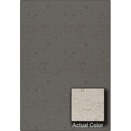 - Milliken Imagine Area Rugs - OLD WORLD Contemporary Vintage Script Writing Old English Rug