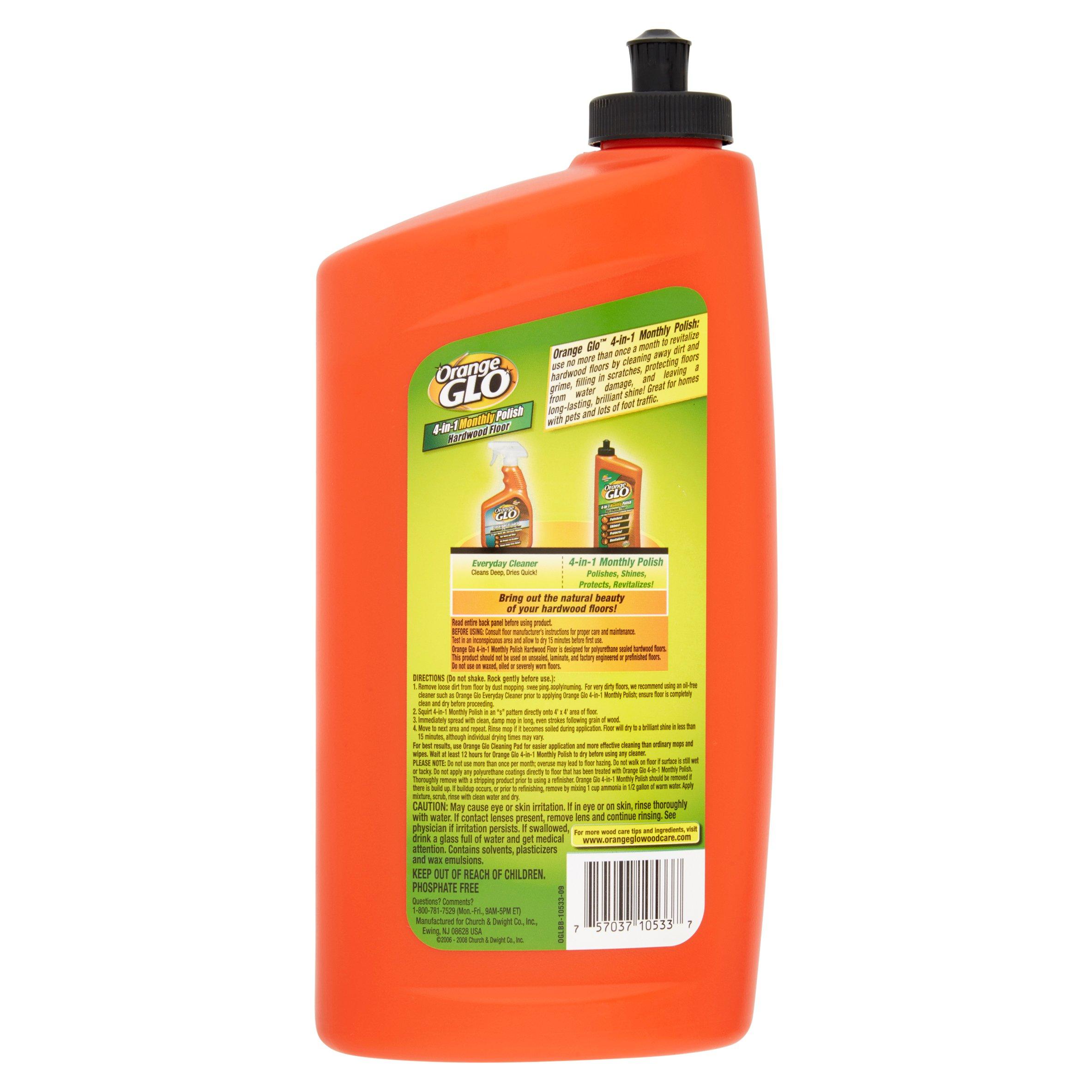orange glo hardwood floor cleaner orange scent 32oz bottle walmartcom - Hardwood Floor Polish