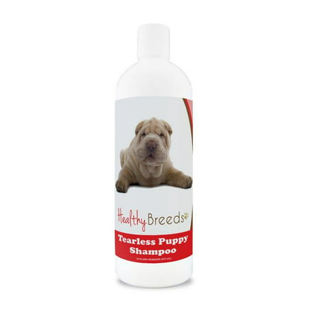Healthy Breeds 840235105480 Chinese Shar Pei Tearless Puppy Dog Shampoo