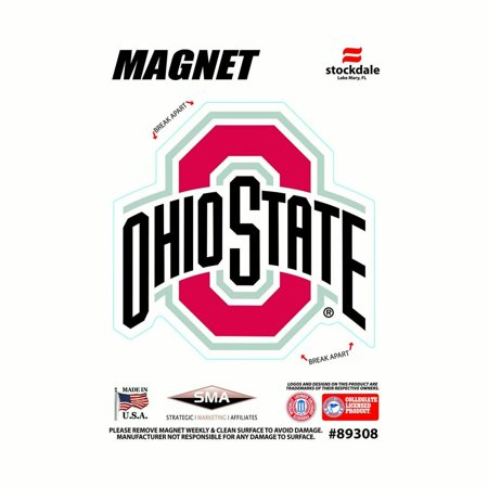 Ohio State Buckeyes NCAA Outdoor Magnet - Team Color