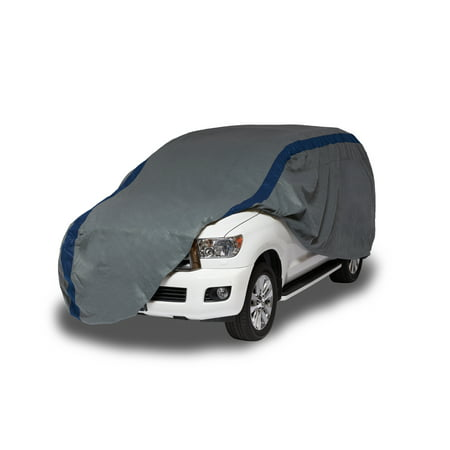 Duck Covers Weather Defender Jeep Wrangler/SUV Cover, Fits Vehicles up to 13 ft. 6 in. (Fender Steel Jeep Cover)