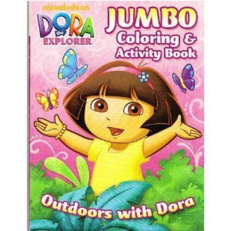 Dora the Explorer Jumbo Coloring & Activity Book by