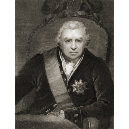 Sir Joseph Banksbaronet Banks 1743 1820 British Explorer And Naturalist From The Book Gallery Of Portraits Published London 1833 Canvas Art   Ken Welsh  Design Pics  26 X 34