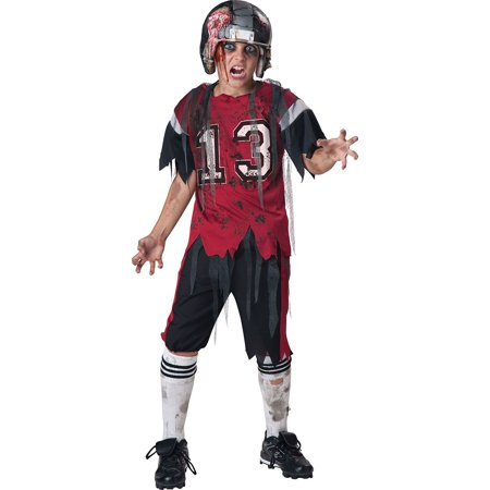 Dead Zone Football Zombie Kids Costume