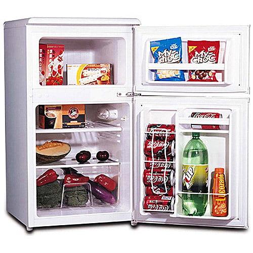 Igloo 3.2 cu ft 2-Door Refrigerator and Freezer