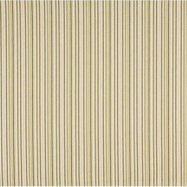 Designer Fabrics F474 54 in. Wide Light Green, Dark Green And Beige Thin Stripe Woven Upholstery Fabric