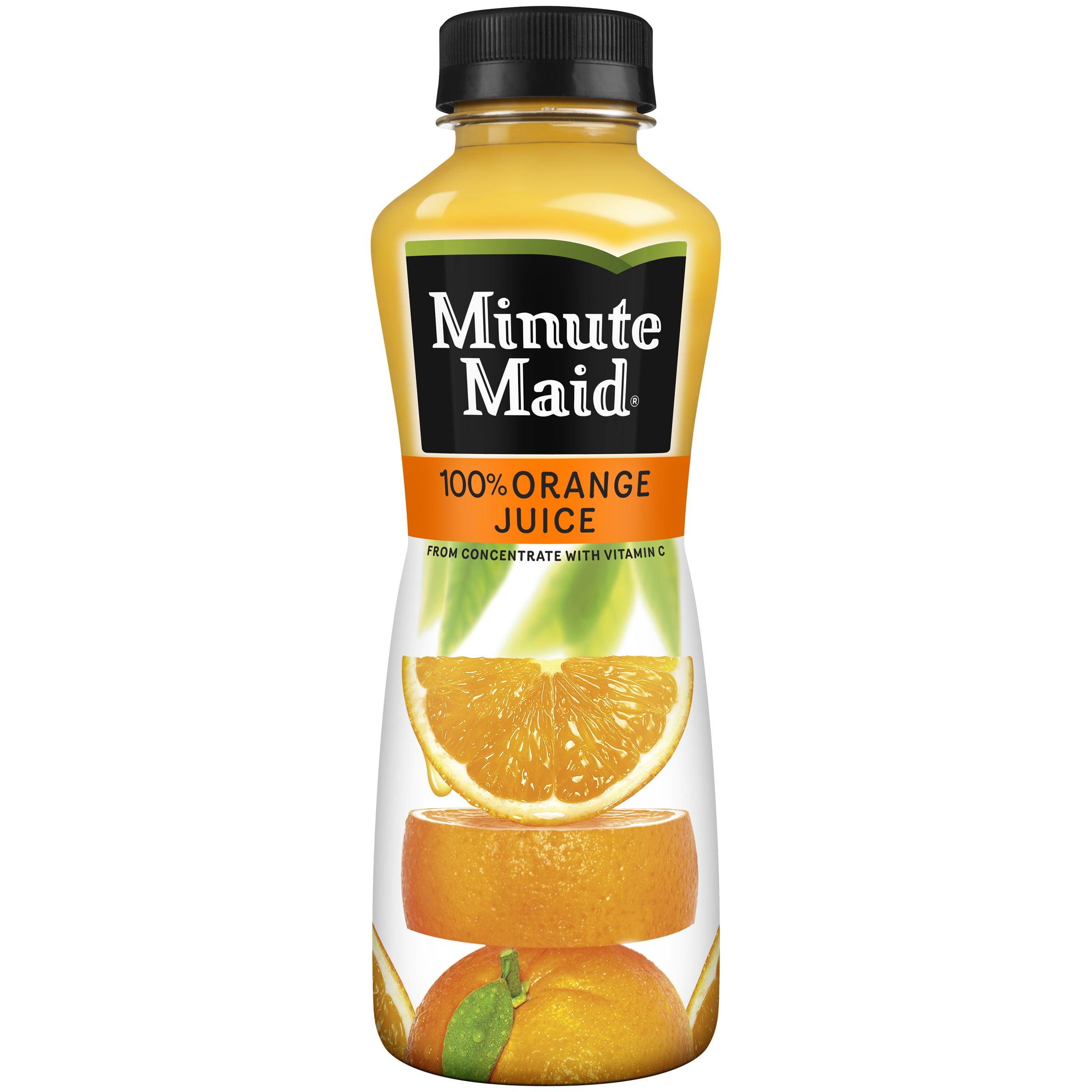 Minute Maid Orange Bottle, 450 mL