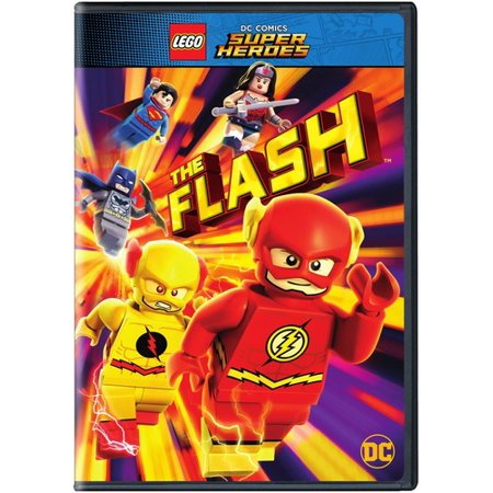 LEGO DC Super Heroes: The Flash (DVD) (All The Superheroes)