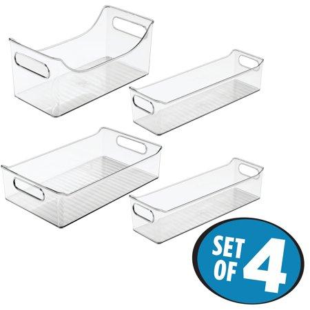 - Interdesign 4 Piece Refrigerator Storage Set