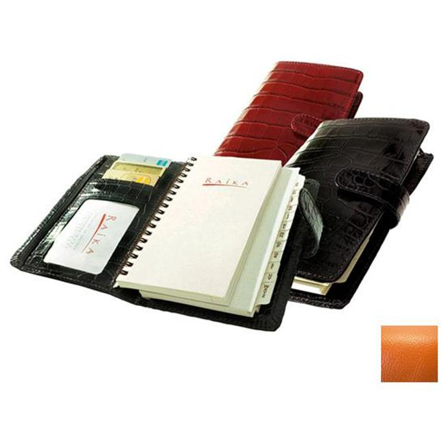Raika RO 207 ORANGE 4.5in. x 6.75in. Pocket Planner - Orange