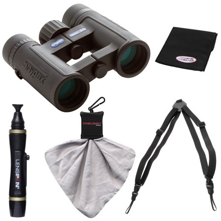 Snypex Knight 8X32 Ed Waterproof Fogproof Binoculars With Case With Harness   Lenspen Cleaning Kit