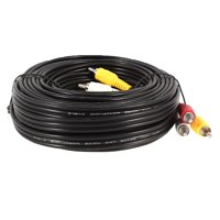 32.8Ft 10M Extension Male to Male RCA Audio Video AV Cable  Cord Black