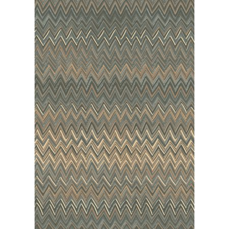 Geometric Opus 6 7x9 6 7733 979 Grey Beige Rectangle Rug