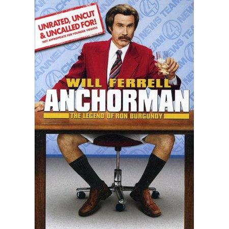 Anchorman: Legend of Ron Burgundy (Unrated) ( (DVD)) (Anchorman Scotch)