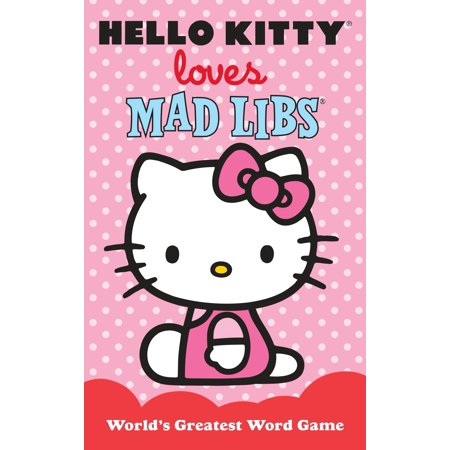 Hello Kitty Loves Mad Libs - Halloween Hello Kitty Color Pages