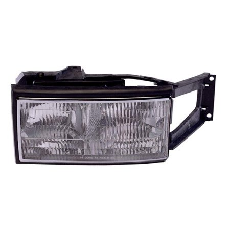 Go-Parts » 1994 - 1996 Cadillac DeVille Front Headlight Headlamp Assembly Front Housing / Lens / Cover - Right (Passenger) Side 16522822 GM2503164 Replacement For Cadillac DeVille Cadillac Deville Parking Light