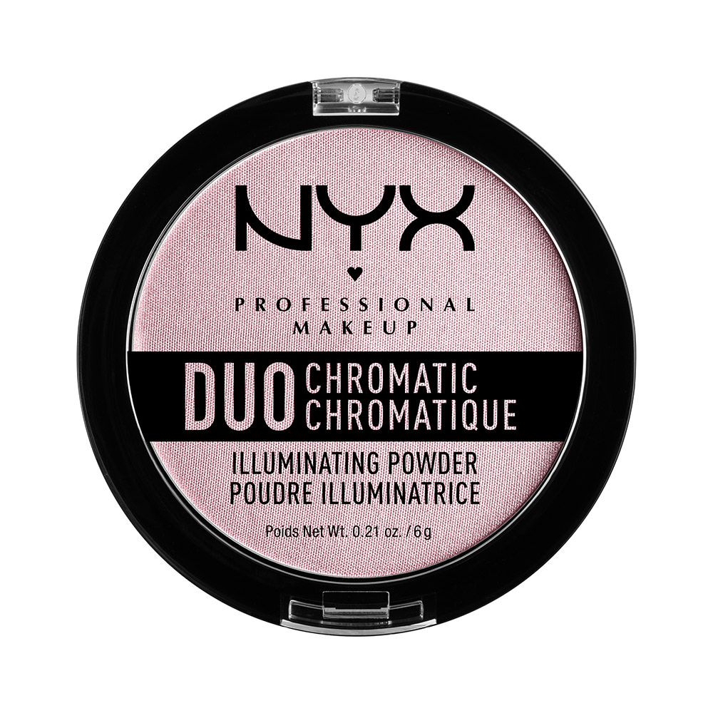 NYX Professional Makeup Duo Chromatic Illuminating Powder, Crushed Bloom