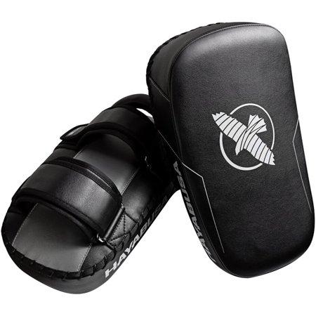 Hayabusa PTS3 Pre-Curved Standard Size Muay Thai Pads - Black