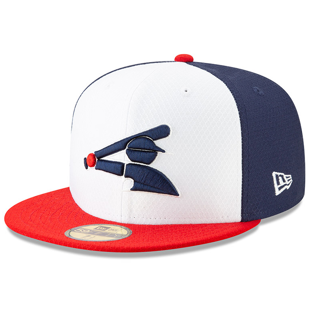 Chicago White Sox New Era 2019 Batting Practice Alternate 59FIFTY Fitted Hat - White/Red