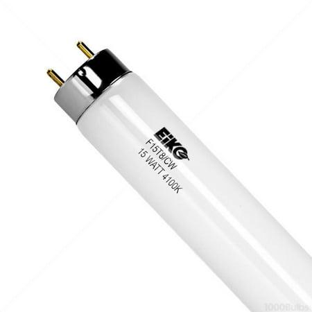 EIKO F15T8/CW (2 Pack) 15 Watt T8 G13 Cool White 4100K 18