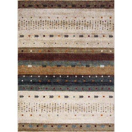 Concord Global Trading Diamond Collections Gabbeh Area Rug