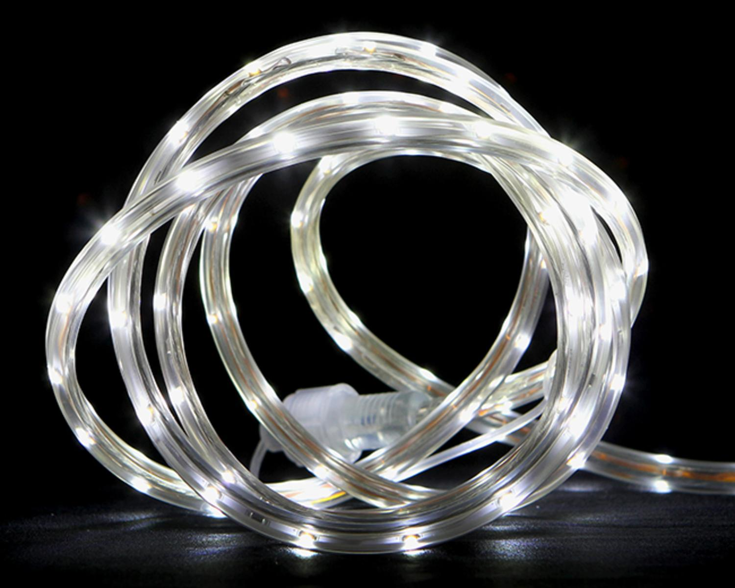 10' Pure White LED Indoor Outdoor Christmas Linear Tape Lighting by CC Christmas Decor