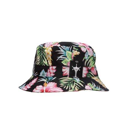9bda61a74237c TopHeadwear Floral Bucket Hat - Hibiscus - image 1 of 2 ...