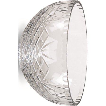 Optic Crystal 7inch Medallion II Salad Bowl (7.25mm wide)
