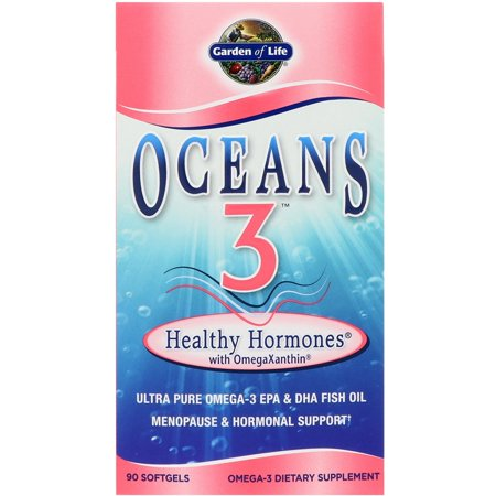 Oceans 3 Healthy Hormones with OmegaXanthin - 90 Softgels