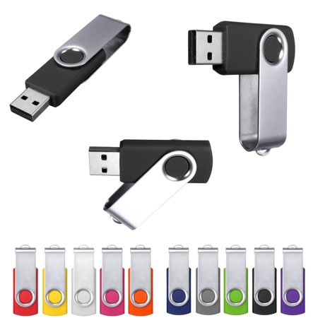 2GB 1GB 512MB 256MB 128MB 64MB Swivel USB Flash Pen Drive Memory Stick Storage Thumb U Disk