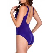 Miraclesuit Women Solid Escape Swimsuit 14  US