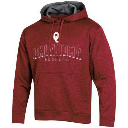 Men's Russell Crimson Oklahoma Sooners Synthetic Pullover Hoodie