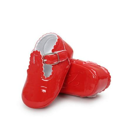 Disney Princess Shoe Pin Set (Babula Baby Girl Bling Soft Sole Crib Shoes Non-Slip Princess Shoes)