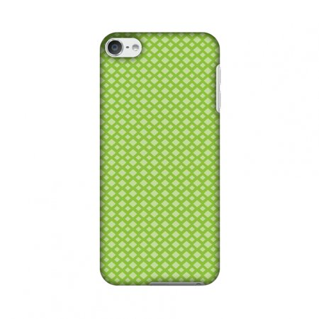 Carbon Fiber Ipod Touch Case - iPod Touch 6th Gen Case - Carbon Fibre Redux Pear Green 7, Hard Plastic Back Cover, Slim Profile Cute Printed Designer Snap on Case with Screen Cleaning Kit