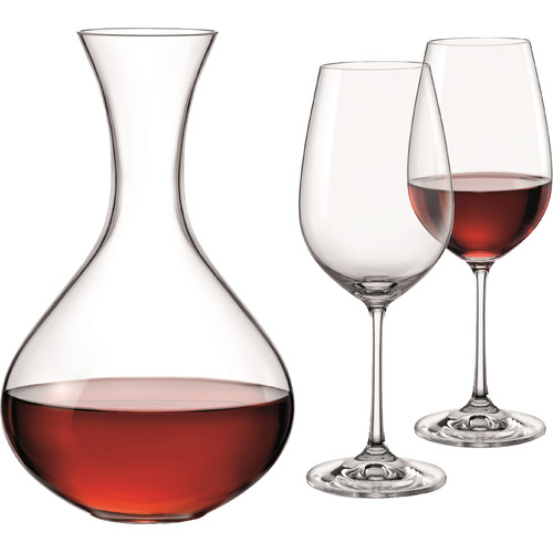 Red Vanilla Viola 50 Oz. Decanter