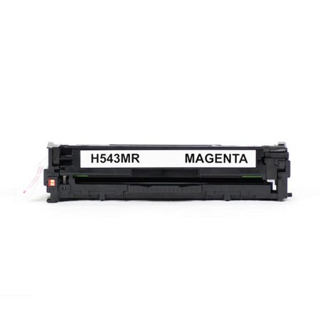 Compatible HP 125A CB543A Magenta Toner Cartridge for HP Color LaserJet CM1312 MFP CM1312NFI CP1210 Color LaserJet CP1215 Color LaserJet CP1515N Color LaserJet CP1518NI - Moustache® - 1/Pack - image 4 of 5
