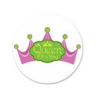 Princess Crown Edible Icing Image Cake Decoration Topper -1/4 Sheet