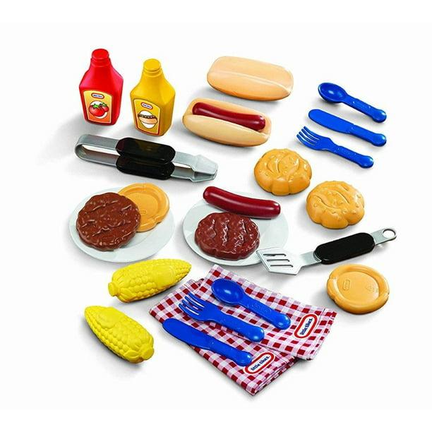 Little Tikes Backyard Barbeque Grillin' Goodies - Walmart ...