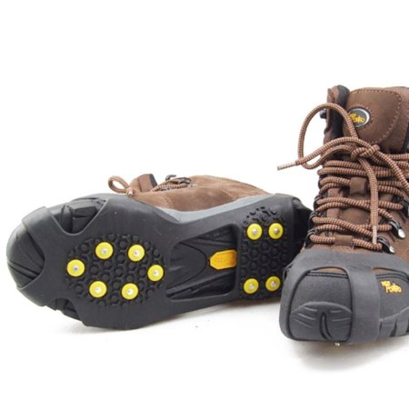 Ice Snow Anti Slip Spikes-Grippers Shoe Grips Cleats Crampons Shoe Cover
