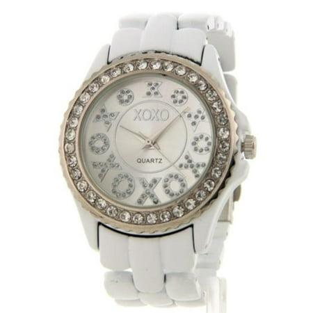 Xoxo xo5205 womens rhinestone accent fashion bracelet watch for Watches xoxo