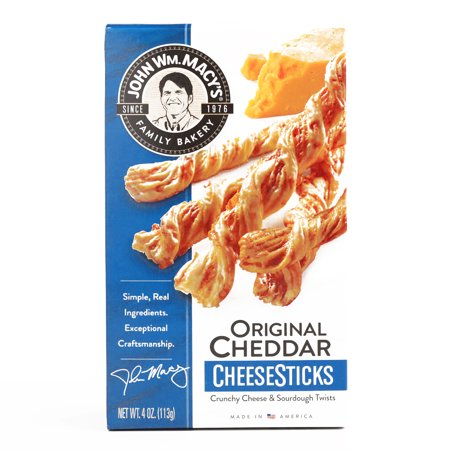 Macy's Cheddar Cheese Sticks  4 oz each (1 Item Per Order, not per (Macys Cheese Sticks)
