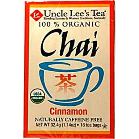 Chai bio cannelle 18 Sacs de thé de l'oncle Lee